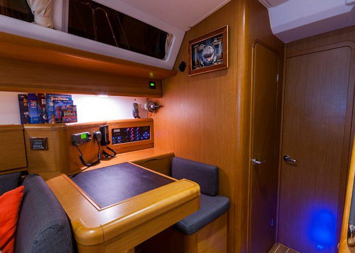 Janneau 53 - charter po bałtyku