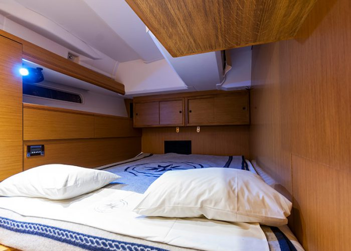 czarter jachtu - kabina Janneau 53