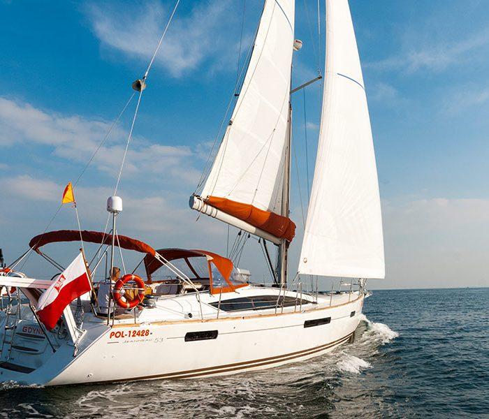 wynajem jachtu dla firmy